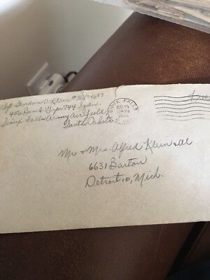 """WW2 Letter August. 1945 """"The War Is Over"""" It Was Announced About An Hour Ago"""""""