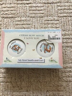 Guess How Much I Love You First Tooth And Curl Box BNIB New Gift