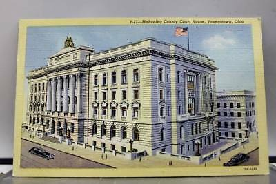 Ohio OH Mahoning Court House Youngstown Postcard Old Vintage Card View Standard
