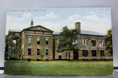 Ohio OH Youngstown Rayen School Postcard Old Vintage Card View Standard Souvenir
