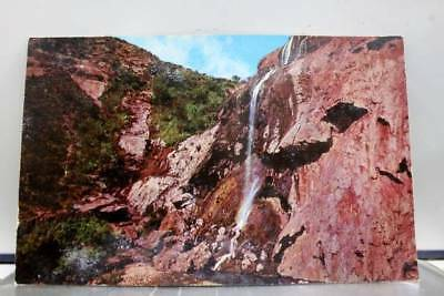 New Mexico NM Sitting Bull Falls Postcard Old Vintage Card View Standard Post PC