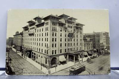 Ohio OH Chittenden Hotel Columbus Postcard Old Vintage Card View Standard Post