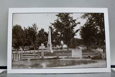 Scenic Cemetery Postcard Old Vintage Card View Standard Souvenir Postal Post PC