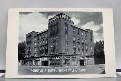 Idaho ID Bonneville Hotel Idaho Falls Postcard Old Vintage Card View Standard PC
