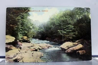 Idaho ID Scenic Creek Postcard Old Vintage Card View Standard Souvenir Postal PC