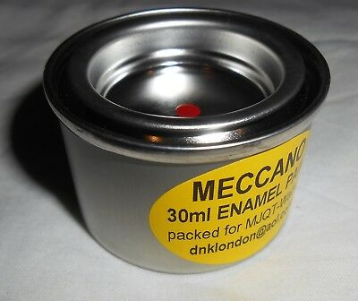 30 ml TIN OF MECCANO MEDIUM RED TOUCH IN PAINT PACKED FOR MJQT