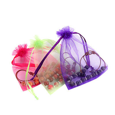 Jewelry Organza Bags Packaging Bags Wedding Party Decorations Favors  W