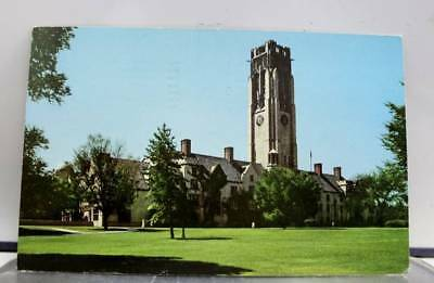 Ohio OH University Hall Toledo Postcard Old Vintage Card View Standard Souvenir