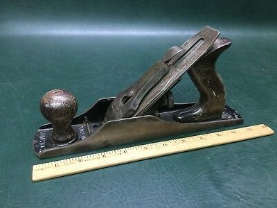 Rare Vintage Stanley Bedrock No. 605-1/4 Wood Plane Made in USA