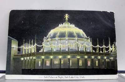 Utah UT Salt Palace Salt Lake City Postcard Old Vintage Card View Standard Post