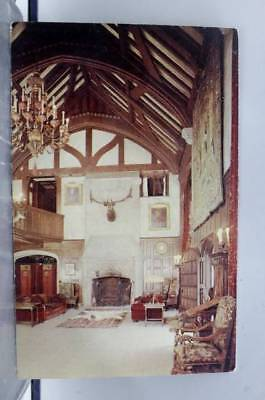 Ohio OH Stan Hywet Hall Akron Postcard Old Vintage Card View Standard Souvenir