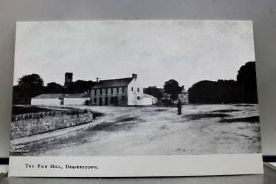 Scenic the Fair Hill Draperstown Postcard Old Vintage Card View Standard Post PC