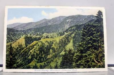 Great Smoky Mountain Park Mountains Postcard Old Vintage Card View Standard Post