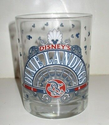 Walt Disney World Orlando Florida Resort Dixie Landings Hotel Logo Glass