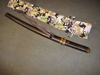"K86 Japanese sword wakizashi in mountings ""Chuyo fukano nari"""