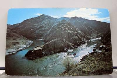 Idaho ID Salmon River Snake River Postcard Old Vintage Card View Standard Post