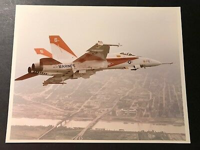 #6 F-18 Hornet Prototype In Flight-Mcdonnell Douglas Photo Gem Mint!!!