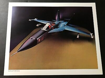 Northrop P-530 Cobra Photo Gem Mint!
