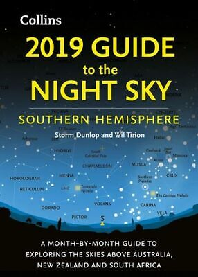 NEW 2019 Guide To The Night Sky By Storm Dunlop Paperback Free Shipping