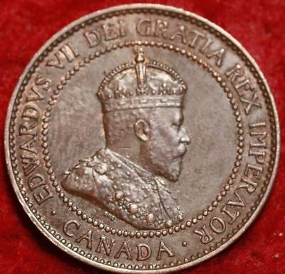 1909 Canada One Cent Foreign Coin