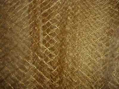 SPECIAL Antique GILT Edwardian FRENCH Millinery Veiling GOLD METALLIC Net, 1912