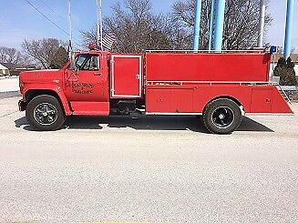 1990 GMC Other  1990 GMC C7000 Fire Truck Tanker with 8.2L Detroit Diesel and Allison Auto Trans