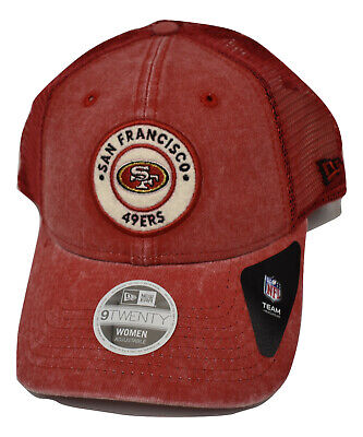 New Era 9Twenty Womens San Francisco 49ers Perfect Patch Snapback Hat Cap New