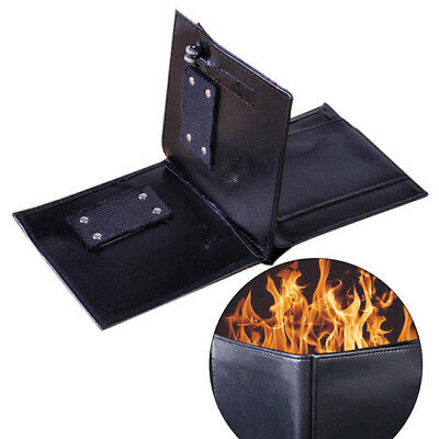 Magic Trick Fire Flaming Wallet Leather Street Show Close Up BS