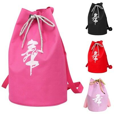 Kids Girl Dance Elegant Bucket Bag Waterproof Thickened Ballet Dance Backpacks