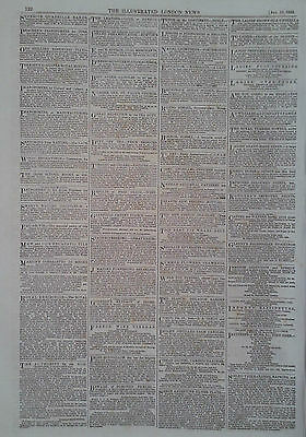 1853 Advert Royal Exhibition-Smart's Writing Institution-Bognor,Sussex