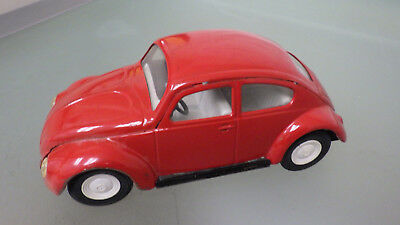 "Vtg 1960s Tonka Toy USA Model 1156 VW Bug 8"" Size * Volkswagen pressed steel"