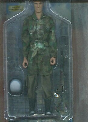 1:6 Scale Action FIGURE BBI WW2 German Military Paratrooper Parachute OK002