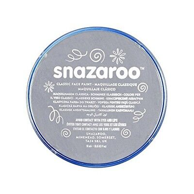 Snazaroo 18ml Face Paint Dark Grey - Colours Body Paints Fancy Dress Classic