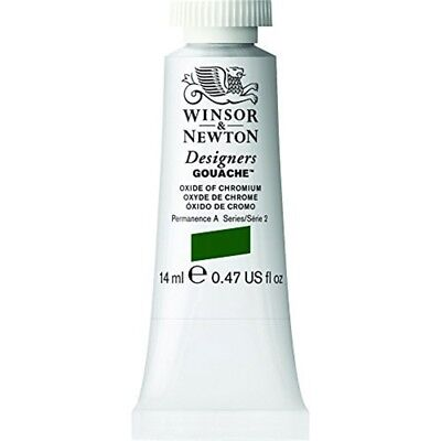 Winsor & Newton Designers Gouache Tube, 14ml, Oxide Of Chromium - 14ml Paint