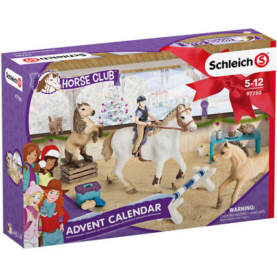 Schleich Horse Club 2018 Advent Calendar with Figures & Accessories NEW