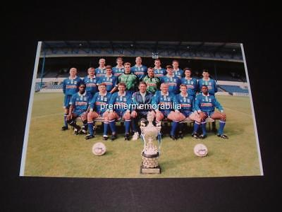 Cardiff City Fc 1993 Squad With Welsh Cup Nathan Blake Eddie May Photograph