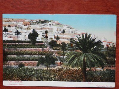 Risco Las Palmas Canarias Postal Antigua J. Perestrello Photo