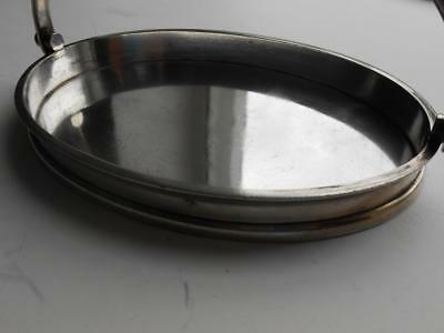 Quality Vintage Heavy Elkington Silver Plated Dish Tray Bon Bon Nuts Or Sweets