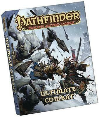 Pathfinder Roleplaying Game: Ultimate Combat Pocket Edition by Jason Bulmahn Pap