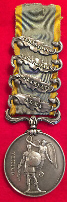Crimean War Medal Charge of the Light Brigade 11th.Hussars British Army 1854 UK