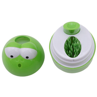 Plastic Frogs Automatic Toothpick Box Container Holder Storage Dispenser LD