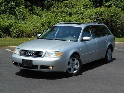 A6 Wagon Awd Low 77K Miles Accident Free Non Smoker! 2004 Audi A6 Wagon Awd Low 77K Miles Accident Free Smoke Free Clean Carfax!