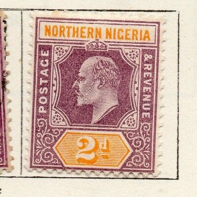 Northern Nigeria 1900-02 Early Issue Fine Mint Hinged 2d. 269060