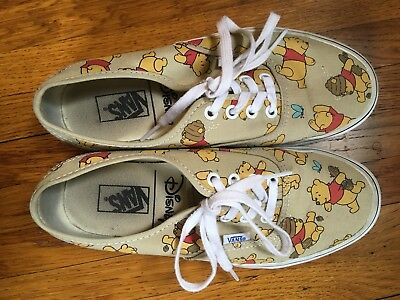 Vans Disney Winnie The Pooh Shoes US Size 7.5 Womens, Sneakers
