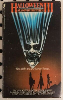 HALLOWEEN III - Season of the Witch - BOOK - 1st Print