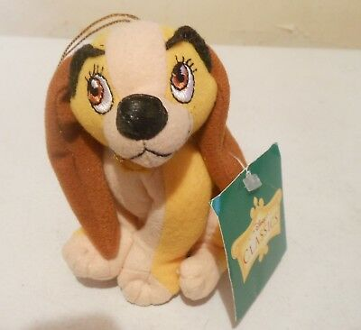Disney Lady Plush Toy  Lady & the Tramp New with tags Alderbrook