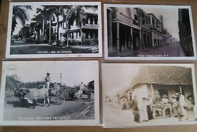 Early 1900's - 70's Panama Canal Zone postcard and Photo rppc