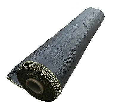 1.83 x 30m Weedmat Weed Control Mat 85gsm PP Woven Fabric Gardening Landscaping