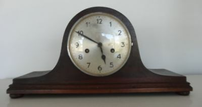 Vintage German Junghans Art Deco Mantle Clock, Chiming