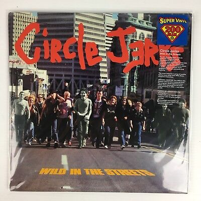 Circle Jerks - Wild In The Streets LP Record - BRAND NEW - 200 Gram Vinyl
